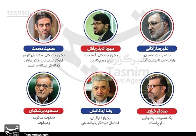گزارش دوم ــ بررسی شایعات درباره 6 شخصیت سیاسی دیگر در کشور/ چهکسی نامزد انتخابات 1400 میشود؟