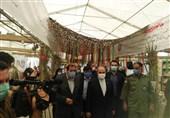 بازدید سلطانیفر از نمایشگاه دفاع مقدس + تصاویر