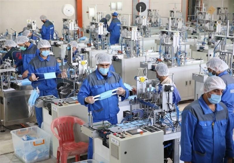 افزایش ظرفیت تولید ماسک ستاد اجرایی فرمان امام به 5 میلیون عدد در روز