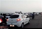 گزارش| هجوم مسافران به سواحل مازندران در روزهای بحرانی شیوع کرونا
