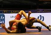 لیگ برتر کشتی فرنگی| پیروزی یکطرفه صبانور مقابل احتشامگستر