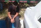 فیلم| بازداشت سارق زورگیر حین سرقت از خانم جوان