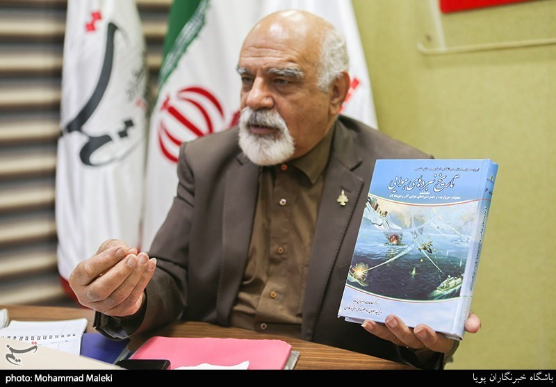 امیر سرتیپ محمود ضرابی از خلبانان دفاع مقدس