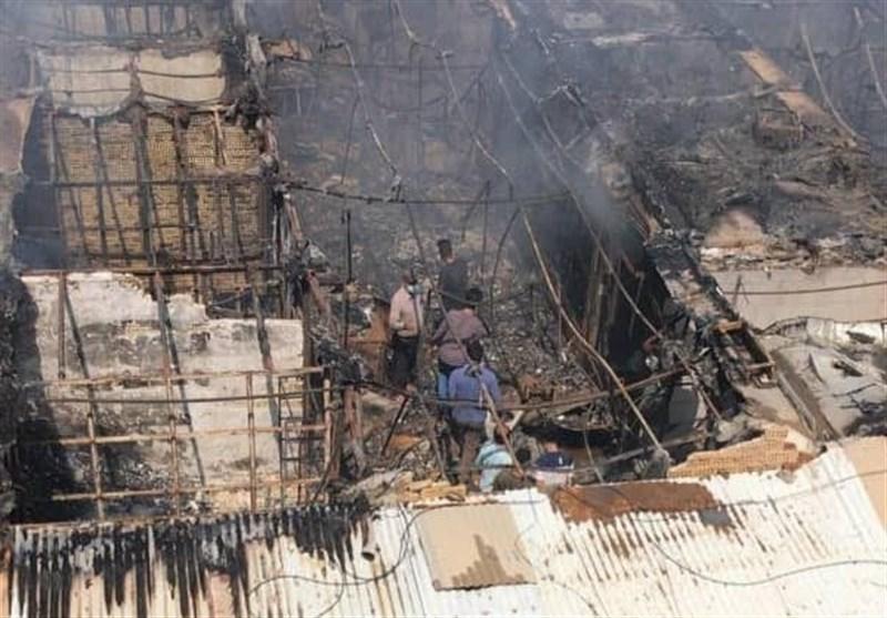 بوشهر|حادثه دیدگان آتش سوزی بازارچه ساحلی دیلم نیاز به حمایت دارند + فیلم