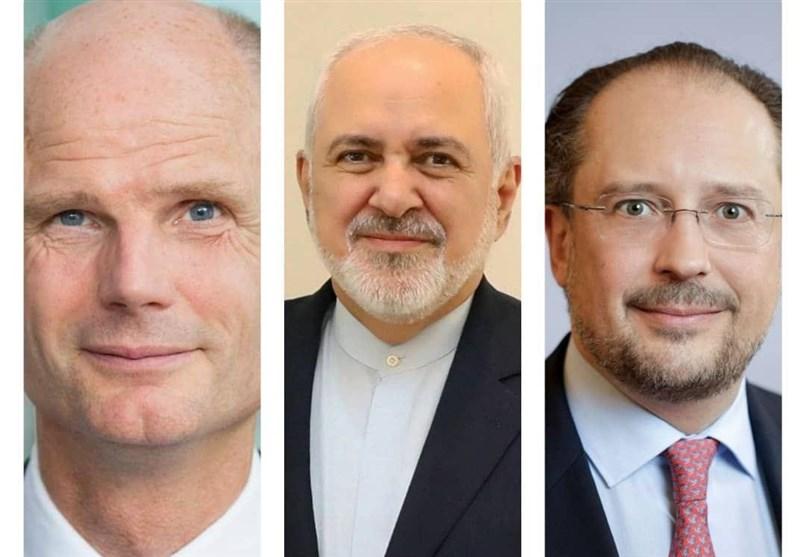 ایرانی وزیرخارجہ کا ہالینڈ اور آسٹریا کے وزرائے خارجہ سے ٹیلیفونک رابطہ