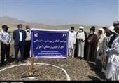 گروه جهادی شهید انصاری کلنگ مدرسه 6 کلاسه در گافر بشاگرد را بر زمین زد+تصاویر