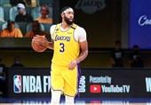 لیگ NBA| پیروزی لیکرز با درخشش دیویس/ بروکلین بدون اروینگ شکست خورد