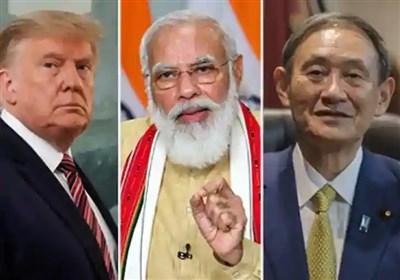 هند از شروع دور جدید گفتگو با آمریکا، استرالیا و ژاپن علیه چین خبر داد