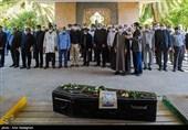 پیکر دومین شهید مدافع سلامت استان فارس تشییع شد