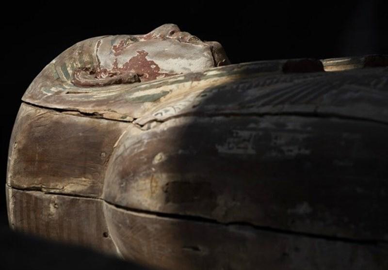 آغاز اکتشاف بزرگ تاریخی در مصر/ کشف 60 تابوت باستانی+تصاویر