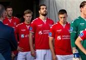 سوپر لیگ دانمارک| پیروزی تیم عزتاللهی در بازی خارج از خانه