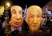 صہیونی وزیر اعظم کے خلاف مظاہروں میں مزید شدت