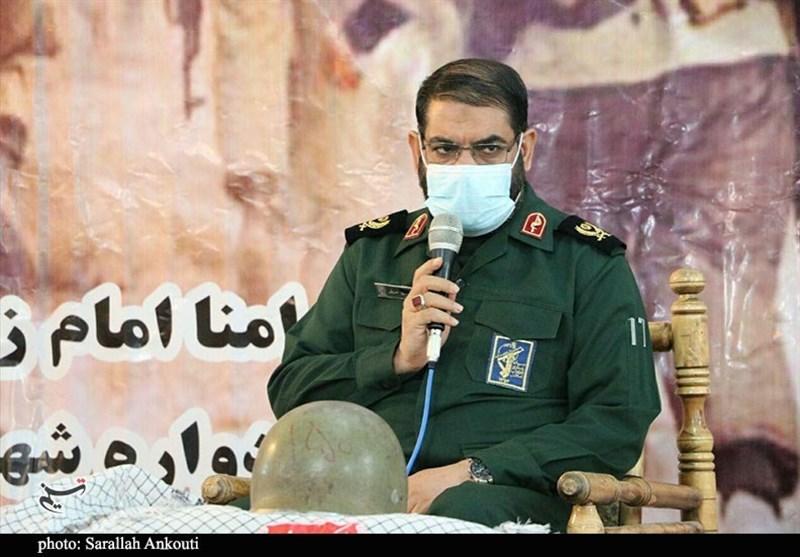 فرمانده سپاه استان کرمان: دعواهای سیاسی سبب نفوذ دشمن میشود/ وحدت رمز پیروزی است