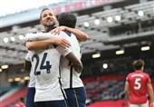 لیگ برتر انگلیس| تاتنهام، منچستریونایتد را در اولدترافورد 6 تایی کرد