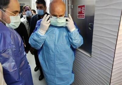 تقدیر ۱۵۰۰ پرستار از حضور قالیباف در بیمارستان امام خمینی