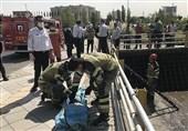 سقوط 2 نفر به چاه 10 متری منجر به مرگ یکی از آنها شد + تصاویر
