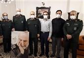 مداحی اربعین در خانه سردار شهید همدانی+فیلم