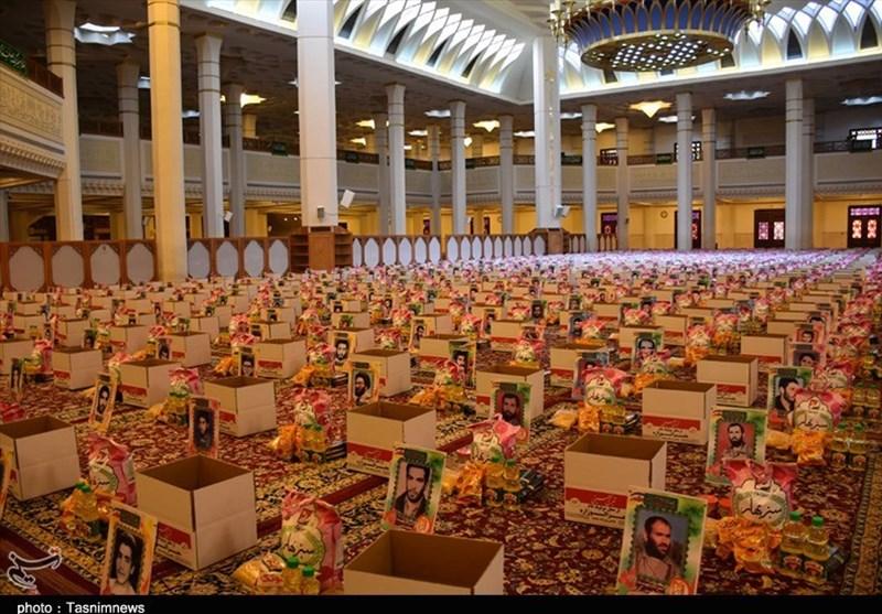 توزیع 10 هزار بسته معیشتی در استان فارس همزمان با رحلت پیامبر اکرم(ص)