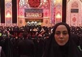 """وقتی """"خیمهگاه"""" امام حسین خانم بازیگر را منقلب میکند/ مسیحیان را در پیادهروی اربعین دیدم به مسلمانیام بالیدم + فیلم"""