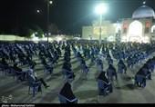 """خوزستان  عزاداری شب اربعین حسینی با مداحی """"آهنگران"""" در دزفول به روایت تصویر"""