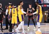 فینال لیگ NBA| لیکرز با پیراهنی که برایانت طراحی کرده به میدان میرود