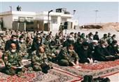 رئیس قوه قضائیه در جمع مرزداران / قرائت زیارت اربعین از نقطه صفر مرزی ایران و افغانستان + فیلم