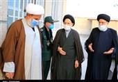 حضور رئیس قوه قضائیه در بیت نماینده ولیفقیه در استان خراسان جنوبی + تصویر