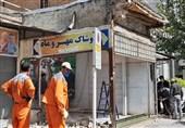تخریب بناهای غیرمجاز در شهرکرد؛ یک واحد تجاری متخلف اعمال قانون شد