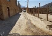 کهگیلویه و بویراحمد| نگرانی اهالی روستای «کتا » از اجرای نیمه تمام طرح هادی روستایی+تصاویر