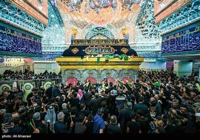 مراسم لیلة الأربعین فی کربلاء المقدسة