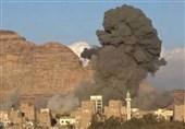 طیران العدوان یشن سلسلة غارات على محافظات یمنیة