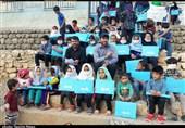 650 بسته معیشتی و لوازمالتحریر توسط گروههای جهادی دانشجویی چهارمحال و بختیاری توزیع شد