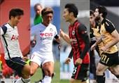 ناکامی 3 بازیکن ایرانی در کسب عنوان بهترین لژیونر هفته گذشته فوتبال آسیا