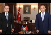 رایزنی تلفنی وزرای خارجه ترکیه و آذربایجان درباره قرهباغ