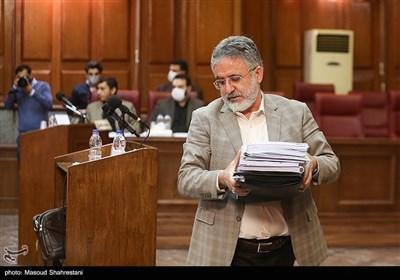 جلسه محاکمه محمد امامی| خودداری وکیل امامی از ورود به دفاع براساس کیفرخواست صادره