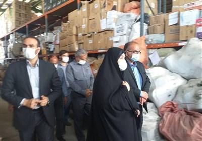 وضعیت تاسفبار یک انبارِ خاص دارویی و کالاهای ضروری در تهران + تصاویر