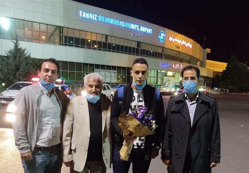 مهاجم الجزایری تراکتور بالاخره تمرینات خود را در تبریز آغاز کرد 