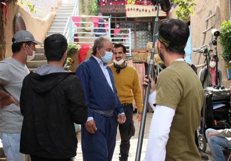 """فیلمبرداری سریال """"نون.خ 3"""" آغاز شد/ اکبر عبدی و علی صادقی در جمع بازیگران + عکس"""