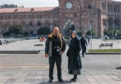 """روزهای آخر تصویربرداری سریال """"خانه امن"""" در اروپا+ عکس"""