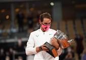تنیس رولاند گاروس| نادال با غلبه بر جوکوویچ قهرمان شد و به رکورد فدرر رسید