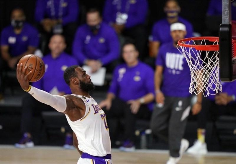 لیکرز پس از 10 سال قهرمان NBA شد/ شاهکار جیمز در بازی آخر