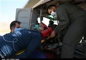پایگاه اورژانس هوایی ارتش 150 کیلومتر جادهای استان کرمان را تحت پوشش دارد