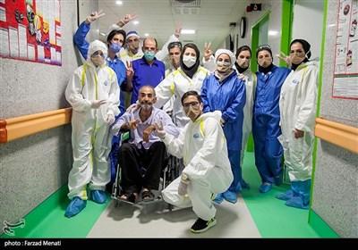 وضعیت بحرانی بیمارستان تخصصی کرونا - کرمانشاه