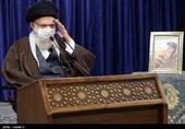 ارتباط تصویری امام خامنه ای با مراسم مشترک دانشآموختگی دانشگاههای افسری