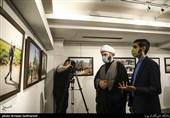 بازدید محمد قمی رئیس سازمان تبلیغات اسلامی از نمایشگاه عکس (عطش وصل)