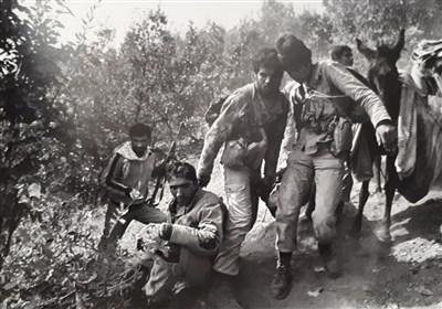 تصویر دفاع مقدس| بچههای تدارکات اینبار «شهید» آوردند