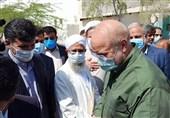 سفر رئیس مجلس به منطقه سیستان/ بازدید قالیباف از طرح انتقال آب به 46هزار هکتار اراضی دشت سیستان + فیلم