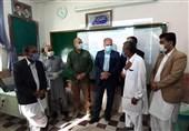 حضور رئیس مجلس در مدرسه نخبگان سراوان / قالیباف با نخبگانی که در عمق محرومیت شکوفا شدند دیدار کرد + فیلم