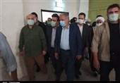 بازدید رئیس مجلس از کارخانه بافت بلوچ ایرانشهر / درد و دل کارگران با قالیباف + فیلم