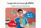 دسترسی به اینترنت پرسرعت ثابت، فرصتی برابر برای تحصیل آنلاین همه دانشآموزان در همه جای کشور